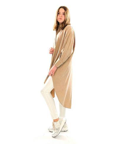 Camicione Color Oversized-Bianco-Weiss-Taglia Unica