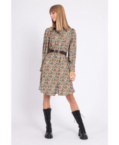 Hemdblusen - Kleid Fiori