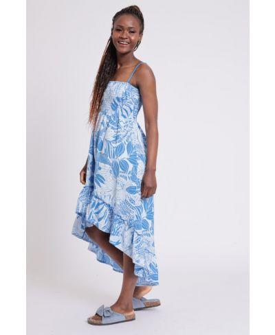 Kleid Elastico-Azzurro-S-M