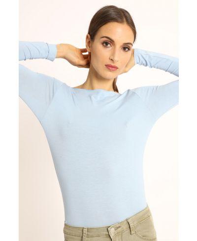 Shirt Barcetta-Celeste-Hellblau-Taglia Unica