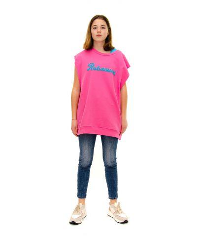 Sweater Rubacuori-Fuchsia-Pink-Taglia Unica
