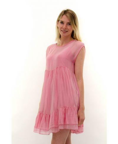Kleid Summertime-Fuchsia-Pink-S