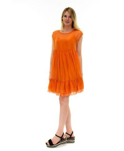 Kleid Summertime-Arancio-Orange-S
