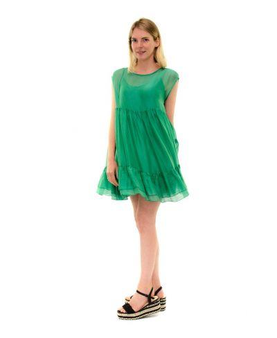 Kleid Summertime-Verde-Grün-S