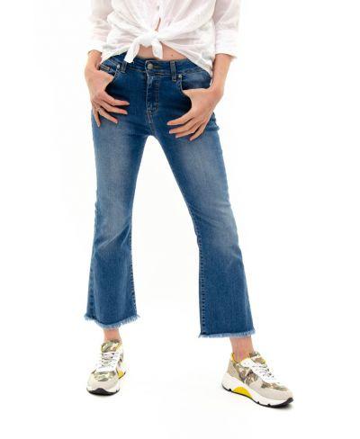 Jeans mit Schlag-Denim-Jeans-XS