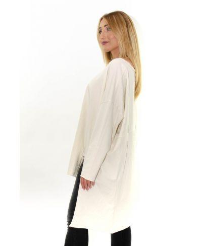 Long Sweater Irregular