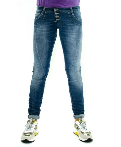 Jeans 3 Bottoni Slim Fit