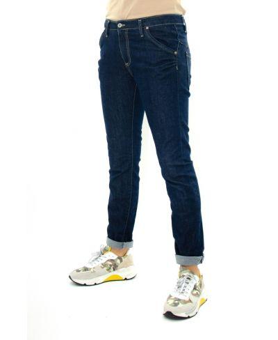 Jeans 1 Bottone Blocatto