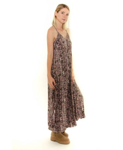 Kleid Plisee Mustermix