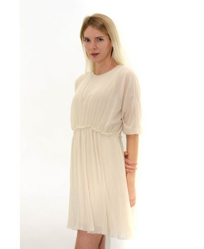 Kleid Plissee Over
