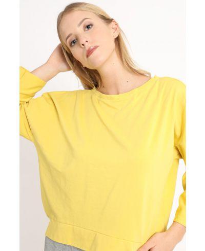 Sweatshirt Smile-Arancio-Orange-Taglia Unica