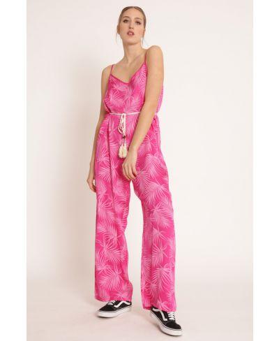 Overall Plalme-Fuchsia-Pink-S-M