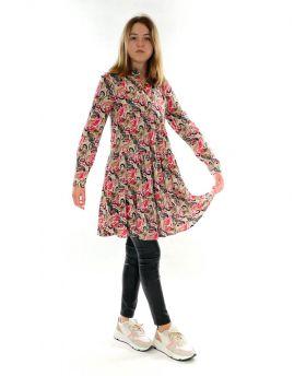 Kleid Paisley Mix