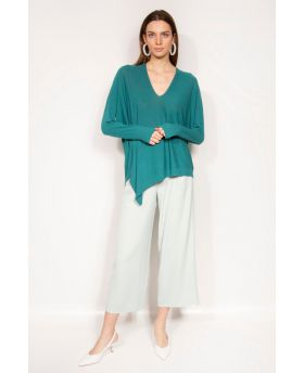 Pullover V-Neck, Asimmetrico