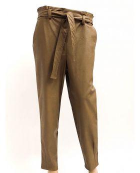 Hose mit Gürtel-Weiss-S