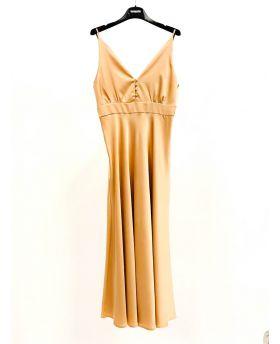 Kleid Deluxe-Rosa-S
