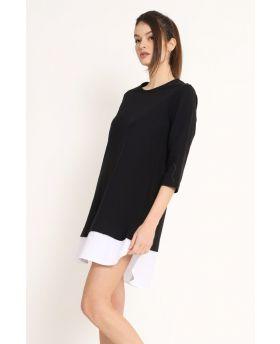 Sweat Kleid Pop-Beige-S-M