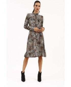 Kleid Stampa Maculato