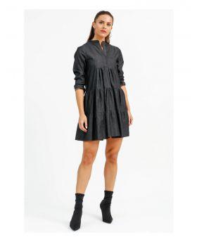 Kleid Jeans-Nero-Schwarz-S