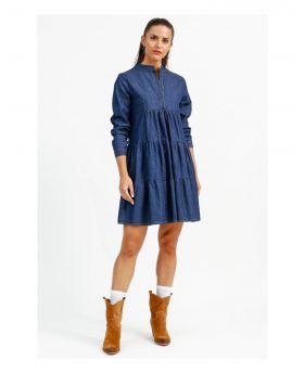 Kleid Jeans-Denim-Jeans-S