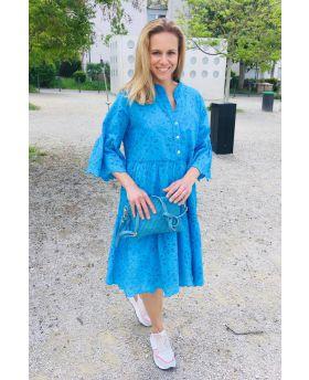 Kleid Sangallo Volant