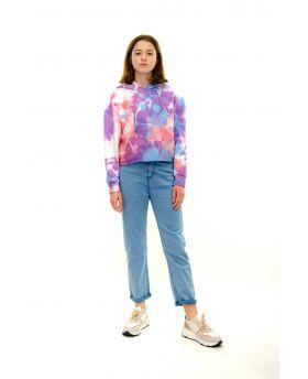 Kurzsweater Batik
