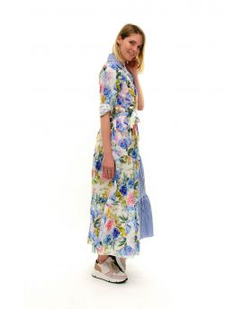 Kleid Bicolor