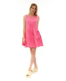 Leinen Kleid kurz
