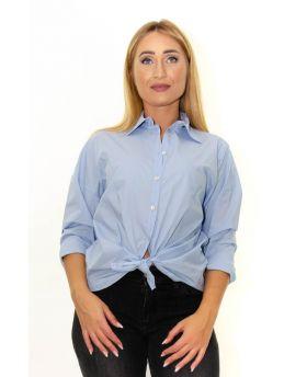 Camicia Nodo Popeline