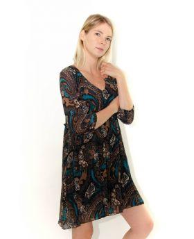 Kleid Fantasia Plissee