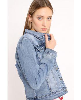 Jeansjacke destroyed-Denim-Jeans-S