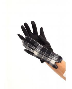 Handschuhe Karo