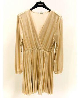 Kleid Oro Gummibund