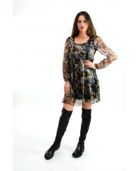 Kleid Batik Optik
