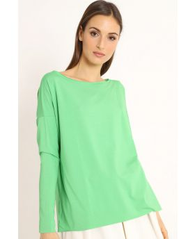 Shirt Kimono-Verde-Grün-Taglia Unica