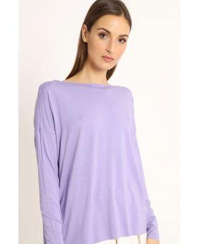 Shirt Kimono-Viola-Taglia Unica