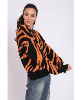 Pullover Zebrata