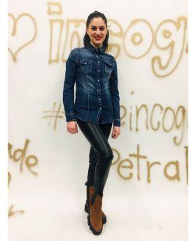 Jeans Bluse-Denim-Jeans-S