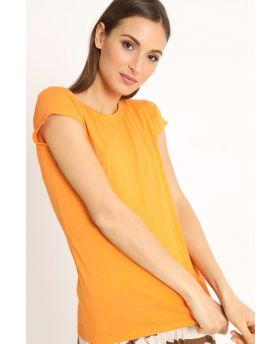T-Shirt Barchetta-Arancio-Orange-Taglia Unica