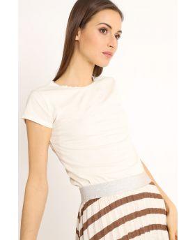 T-Shirt Barchetta-Bianco-Weiss-Taglia Unica