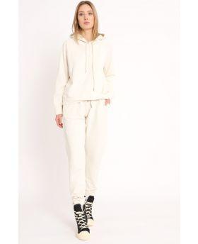 Sweatshirt & Hose 2 teilig-Beige-Taglia Unica