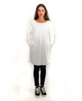 Sweat Kleid Cotton