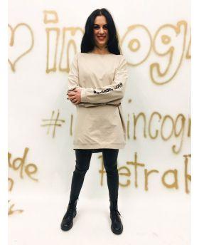 Sweater Incognito-Beige-Taglia Unica